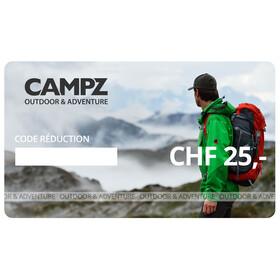 CAMPZ chéque cadeau - CHF 25